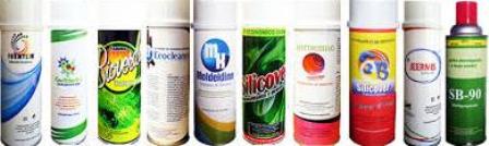 Productos en aerosol