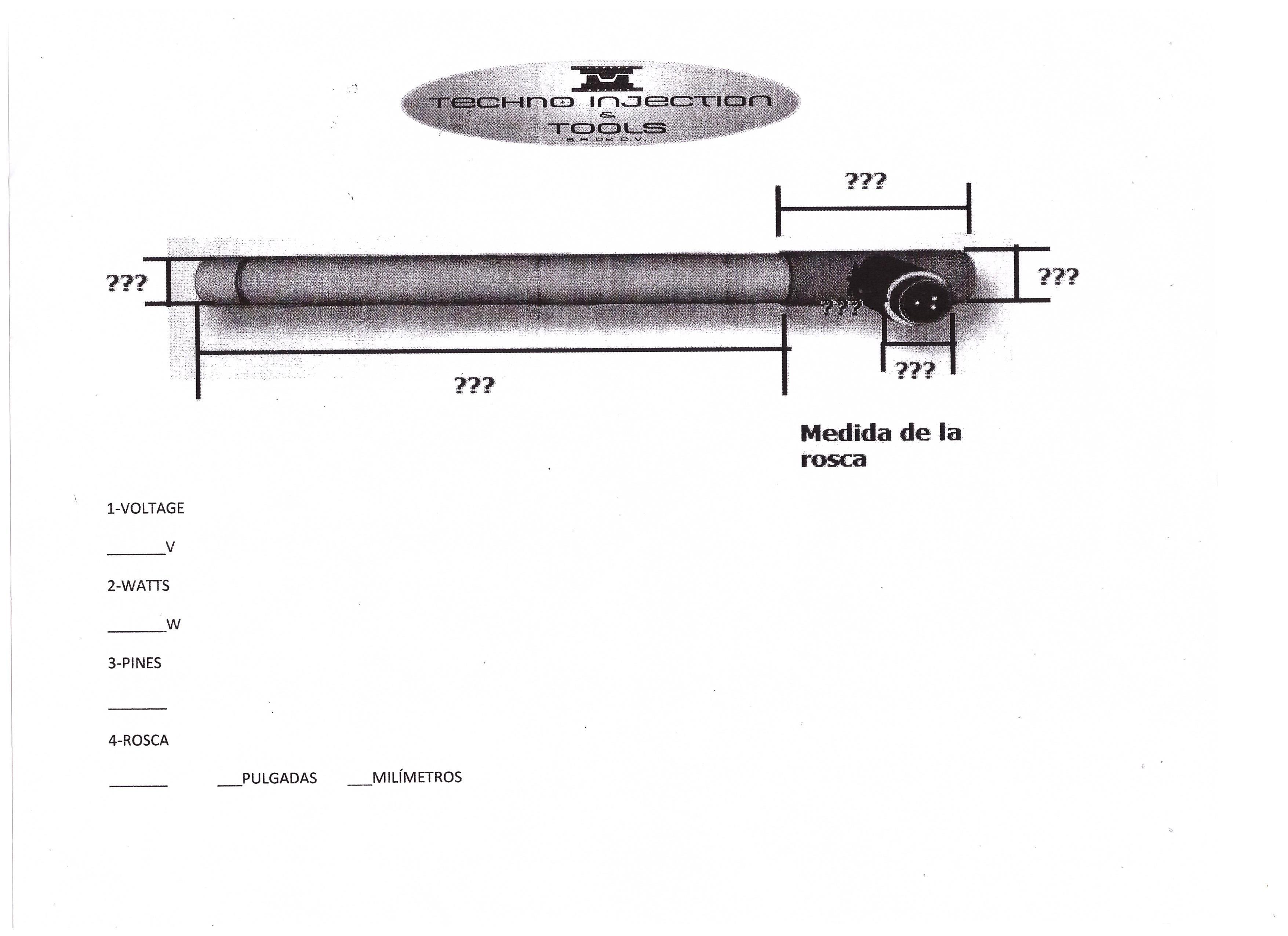 formato pipas de aire, resistencias industrales