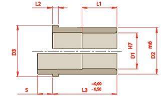 bujes, componentes para moldes