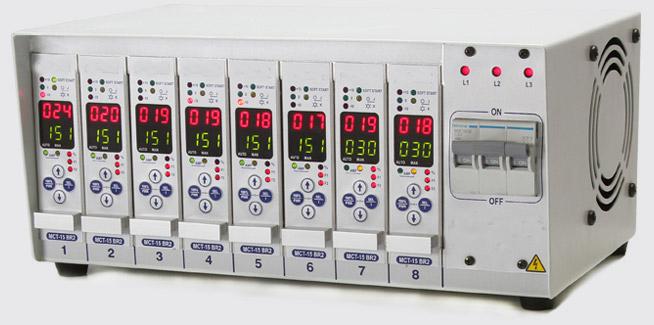 control-temperatura-8-zonas, controlador de temperatura digital